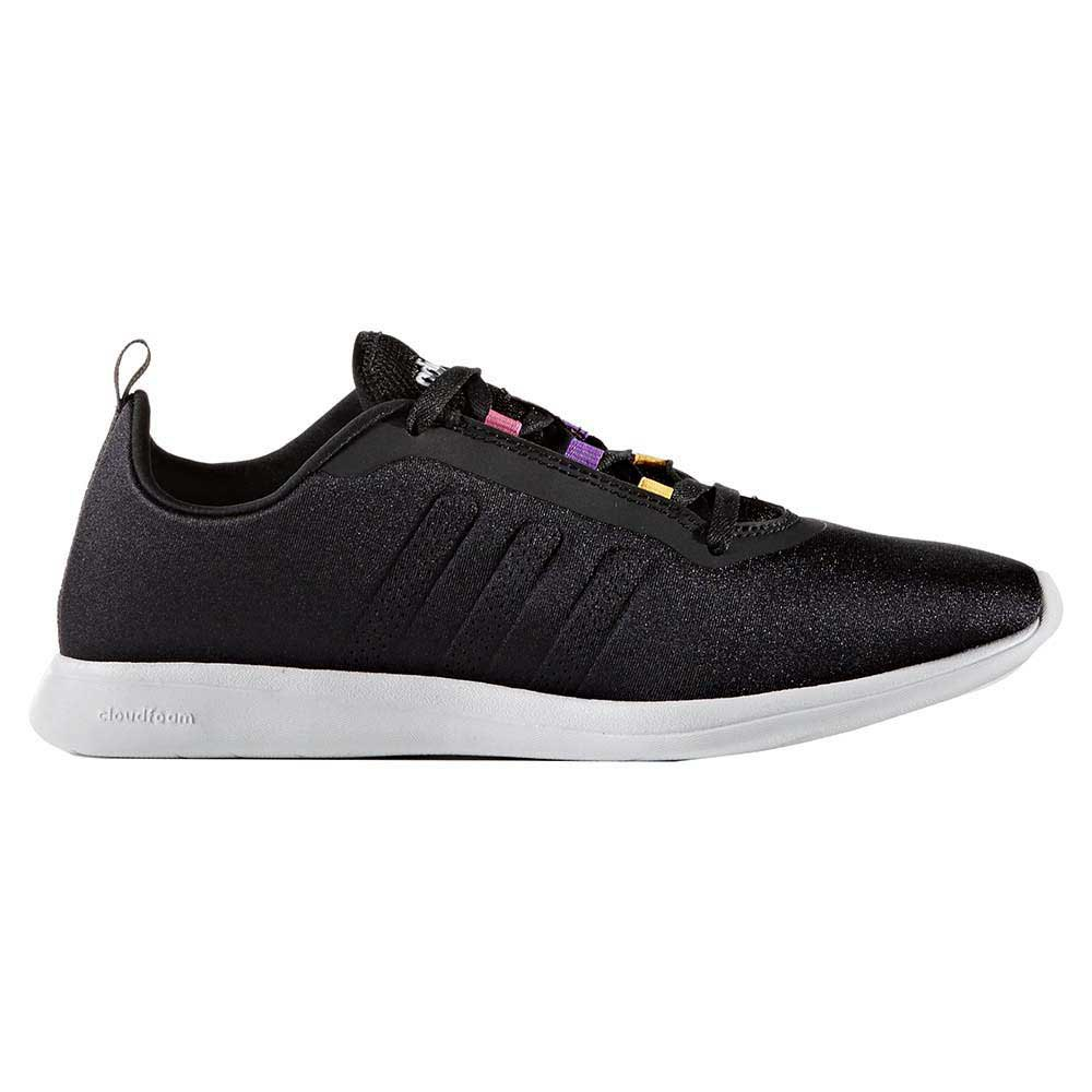 adidas cloudfoam black and purple