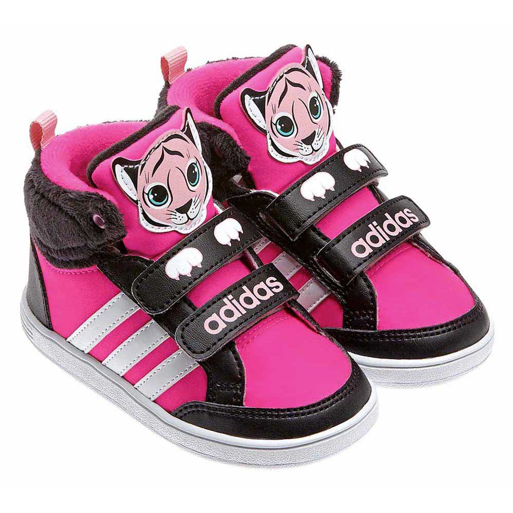 basket adidas hoops animal rose