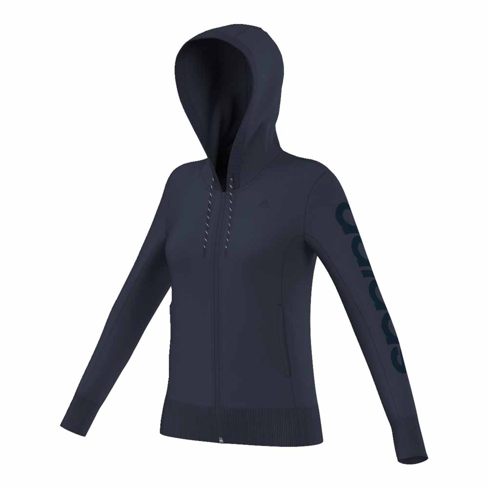 adidas Essentials Lienar Hoody Brushed
