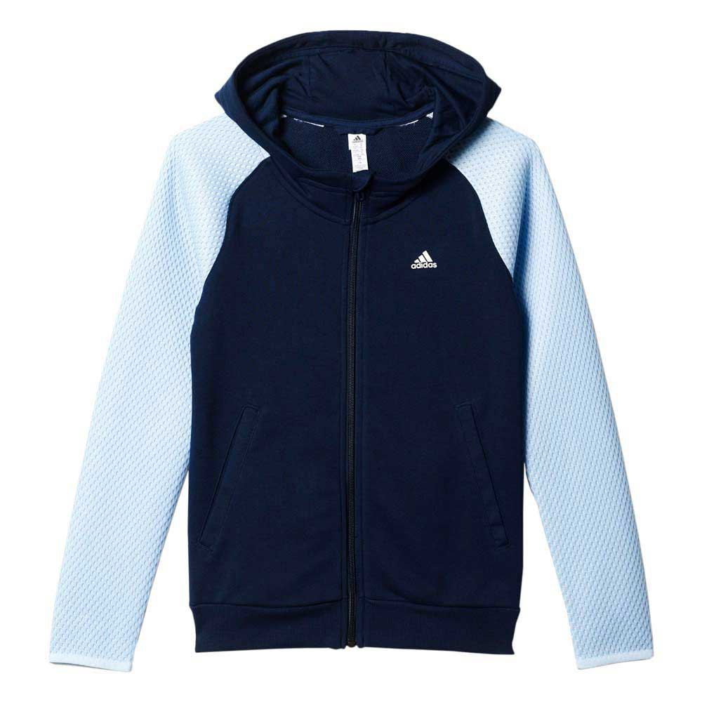 adidas Athletics Spacer Mesh Full Zip Hoodie