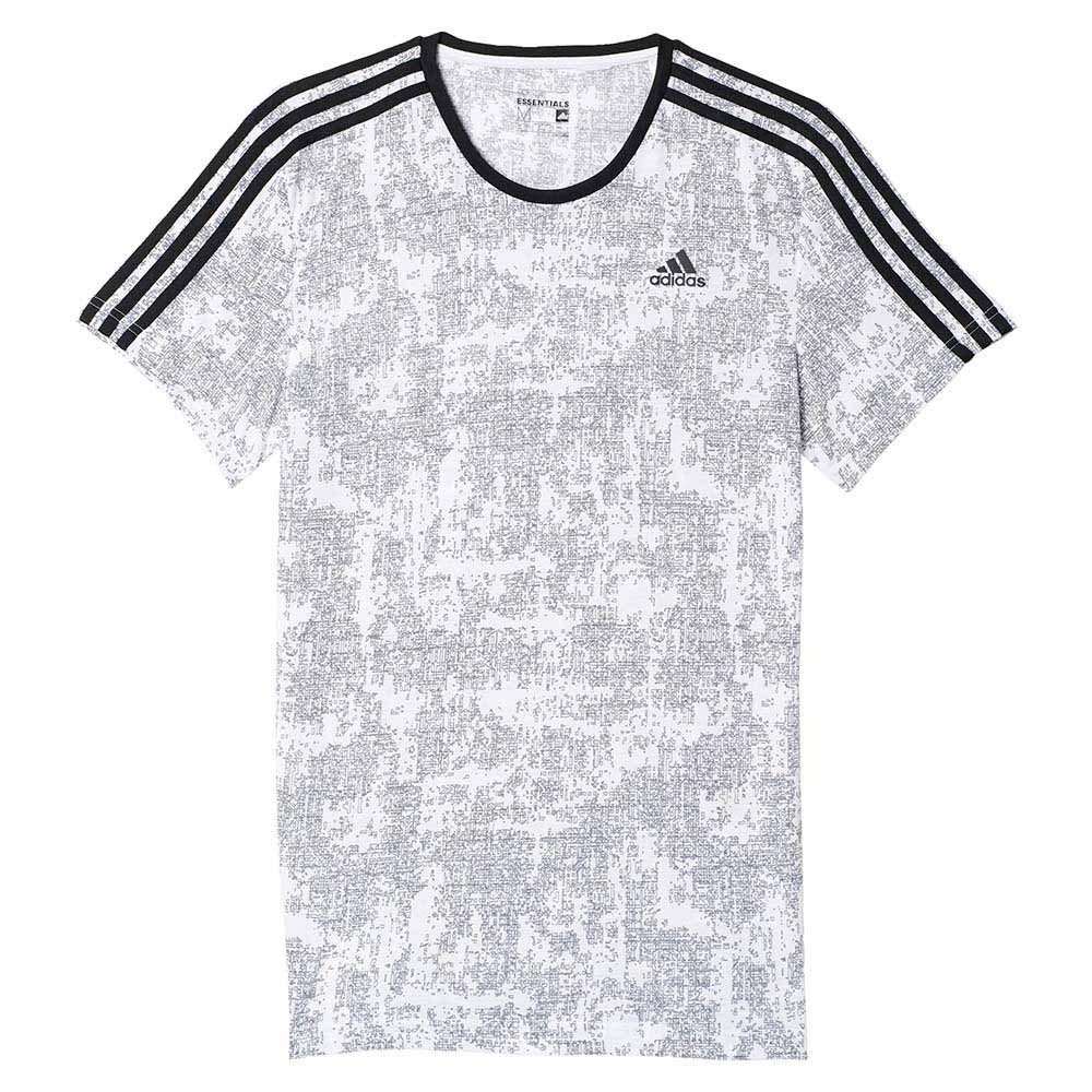adidas Essentials 3S All Over Print Tee