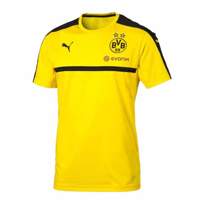Puma BVB Training Jersey with Sponsor