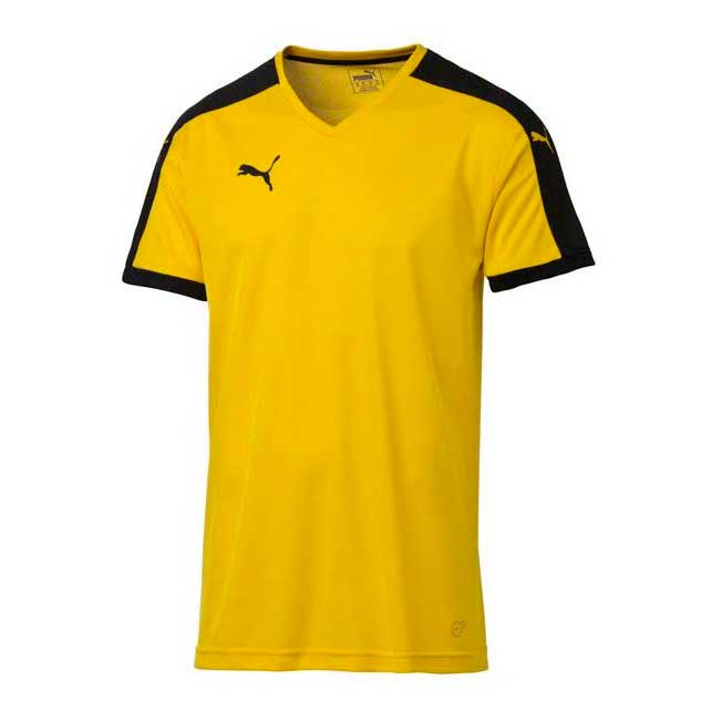 1e3016c53aa Puma Pitch Shortsleeved Shirt Geel, Runnerinn T-shirts