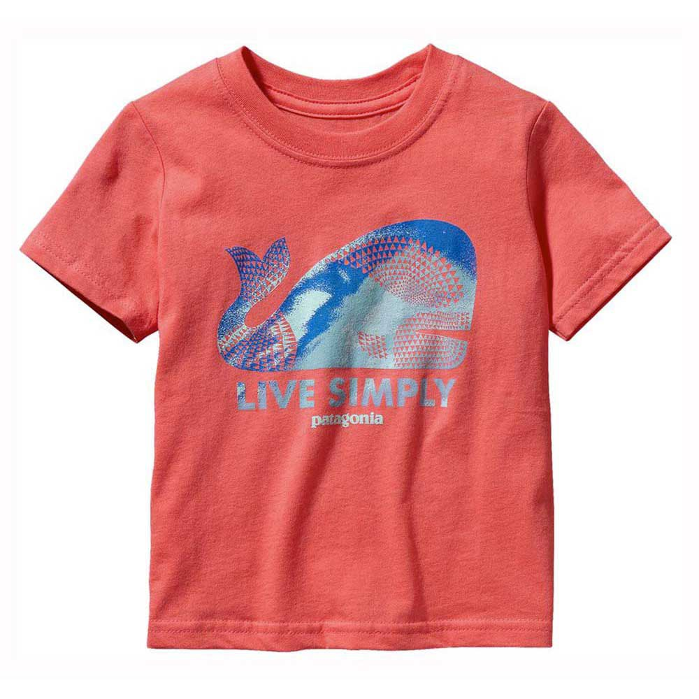 Patagonia Baby Live Simply Geometric Whale S/S