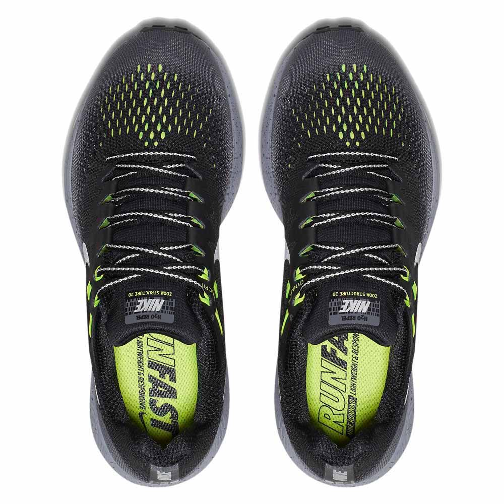 dirt cheap website for discount newest collection Nike Air Zoom Structure 20 Shield Black, Runnerinn