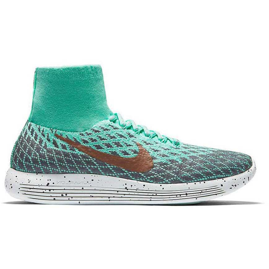 48f12c7db278a Nike LunarEpic Flyknit Shield Green buy and offers on Runnerinn