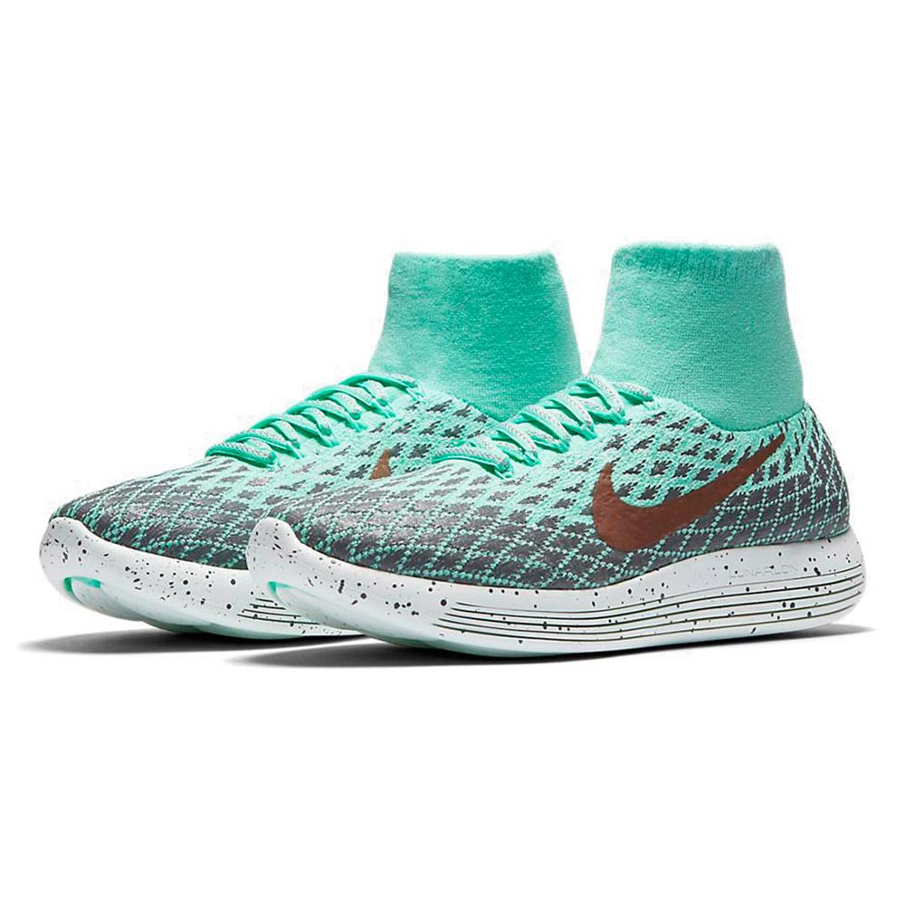 Nike LunarEpic Flyknit Shield Green buy and offers on Runnerinn 59658f83690d