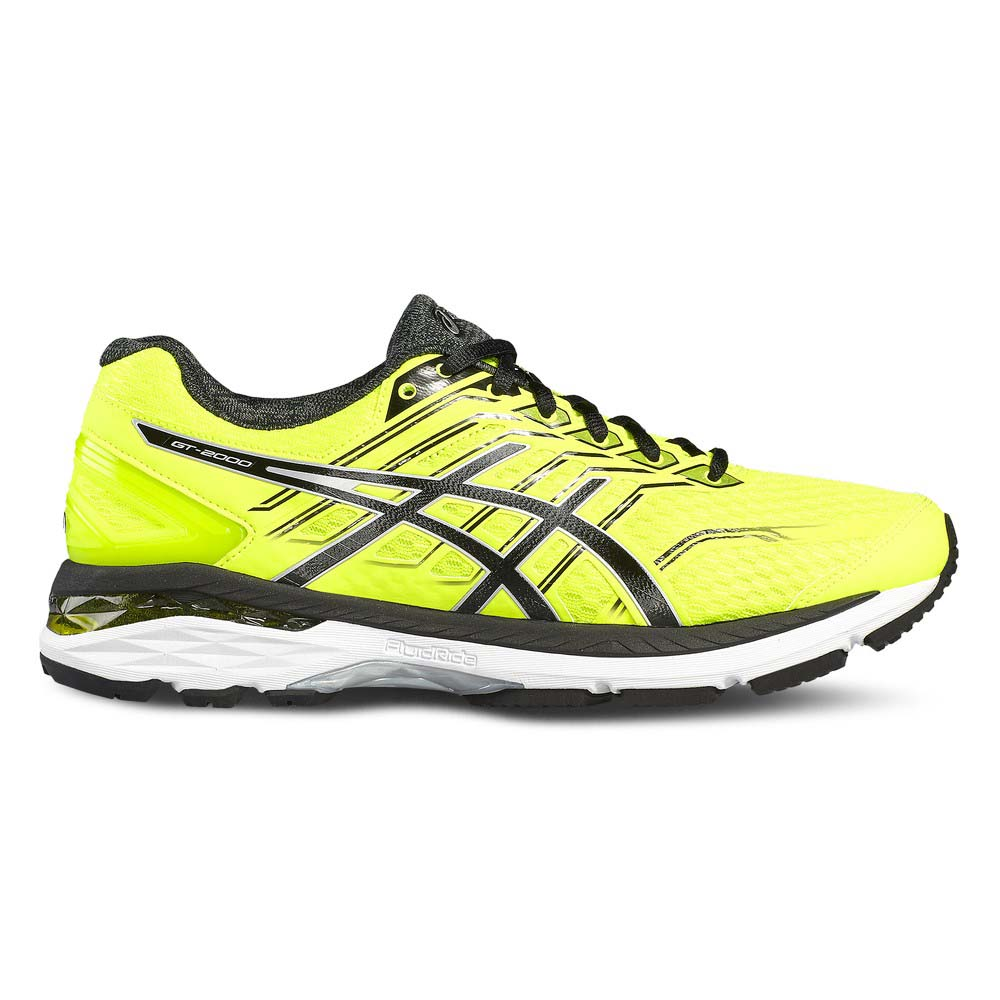 Asics Gt 2000 5 EU 47 Safety Yellow / Black / Silver