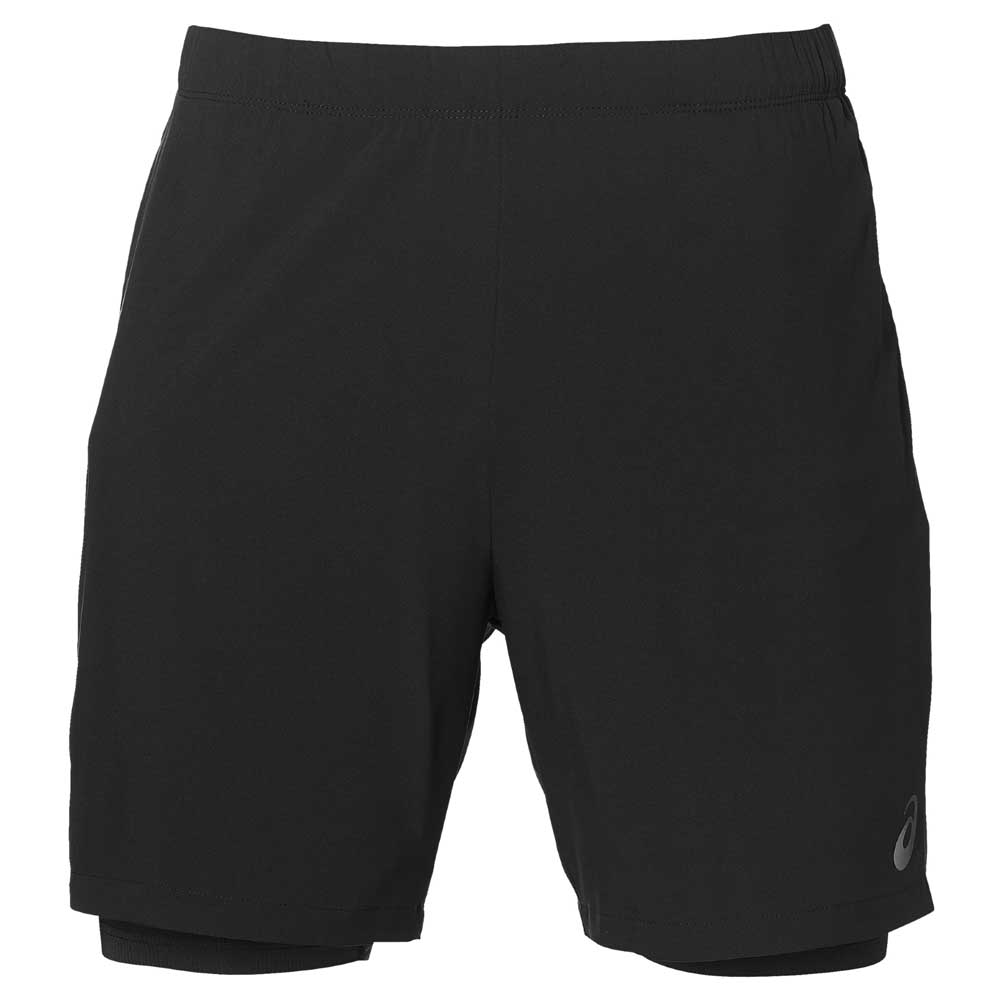 asics 7 inch woven short