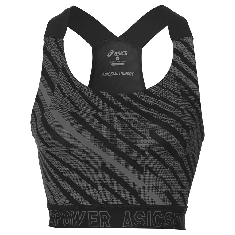 Ropa interior técnica Asics Focus Graphic Bra S Performance Black