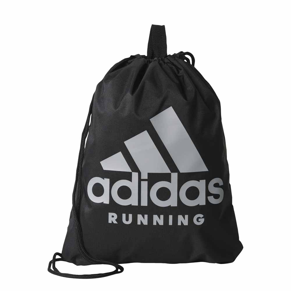 adidas Run Gym Bag Black buy and offers on Runnerinn bc1b68de52