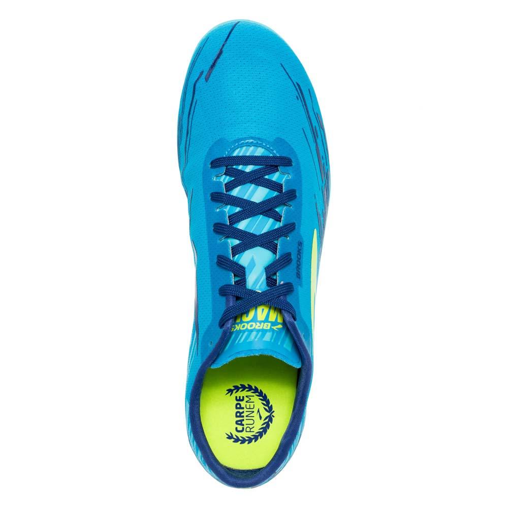 470df05667e1d Brooks Mach 18 Spikeless Blue buy and offers on Runnerinn
