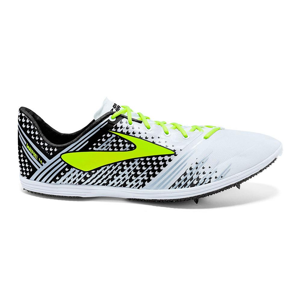 ee571c0139df Brooks Wire 4 White buy and offers on Runnerinn