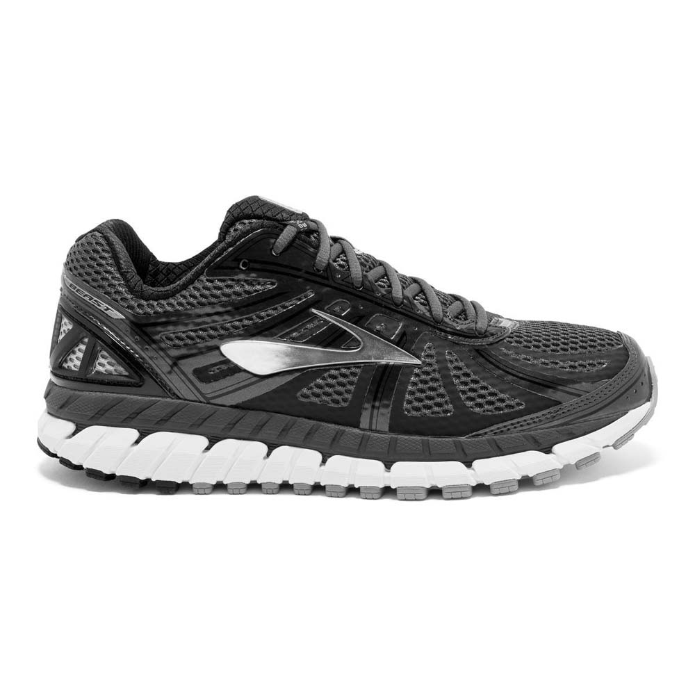 436e2a8f594 Brooks Beast 16 Extra Wide Grey buy and offers on Runnerinn