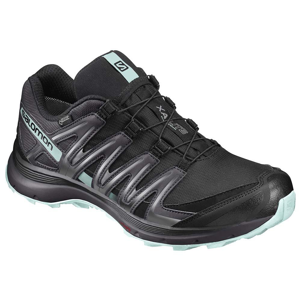 zapatos salomon verdes black