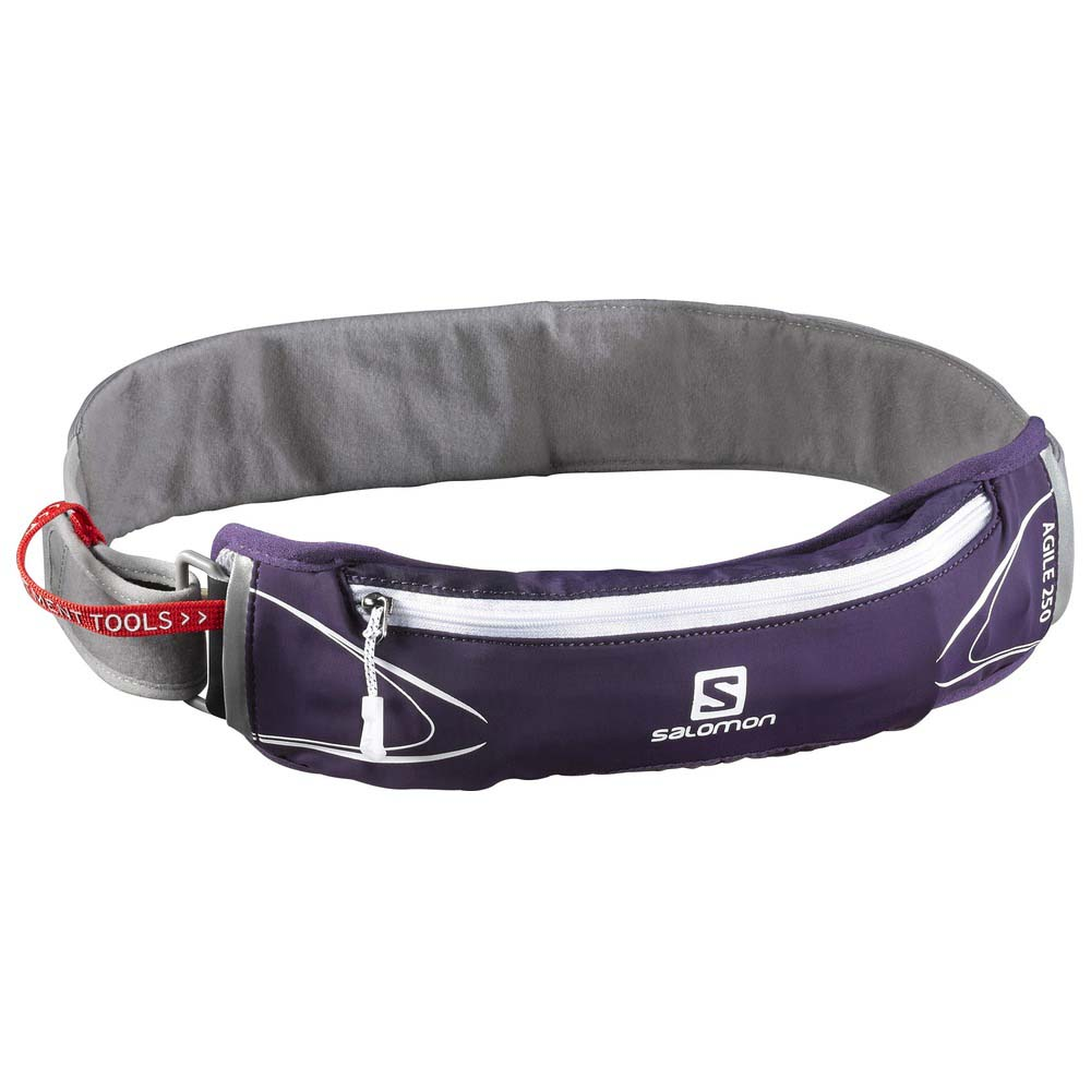 449ef8dd7f7f Salomon Agile 250ml Belt Set Grey buy and offers on Runnerinn