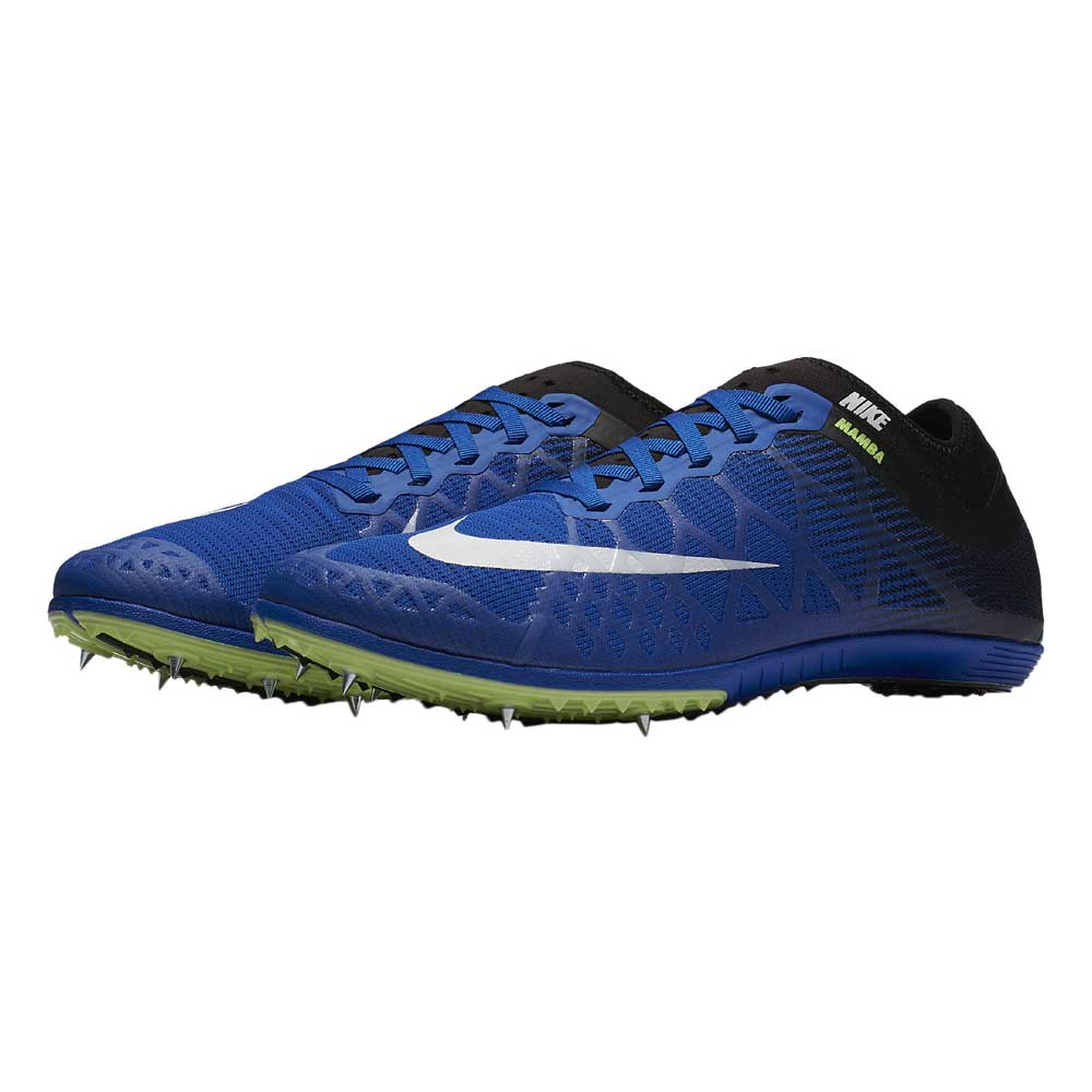 5e5e81647ef3 Nike Zoom Mamba 3 Blue buy and offers on Runnerinn