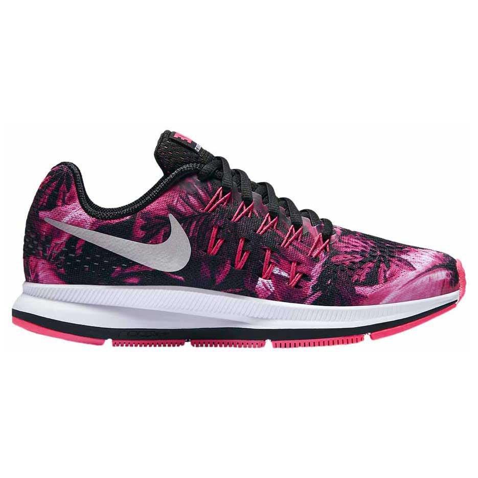Nike Zoom Pegasus 33 (GS), Chaussures de Running Garçon, 35 1/2 EU