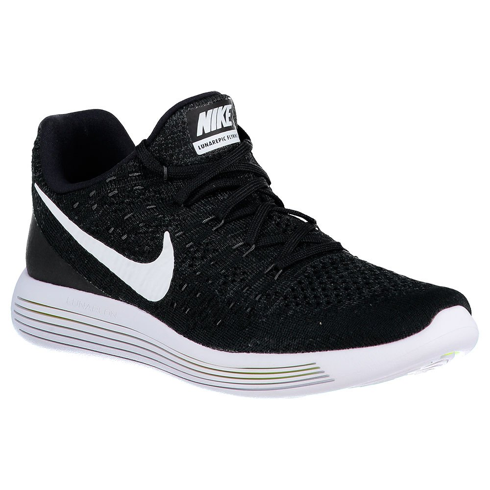 3cec6fc9175b Nike Lunarepic Low Flyknit 2 Black buy and offers on Runnerinn