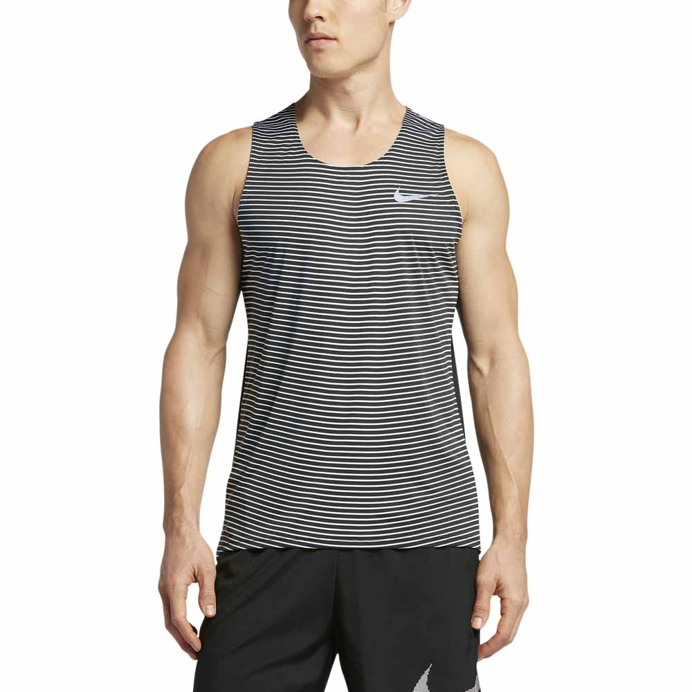 Nike Racing Print Singlet Grey buy and offers on Runnerinn 131e8d4d914c