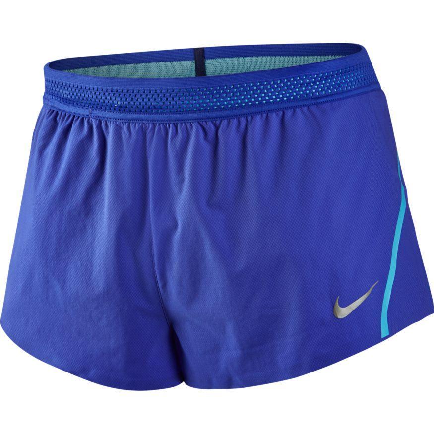 Nike Aeroswift 2 In 1 Short Pants Bleu, Runnerinn