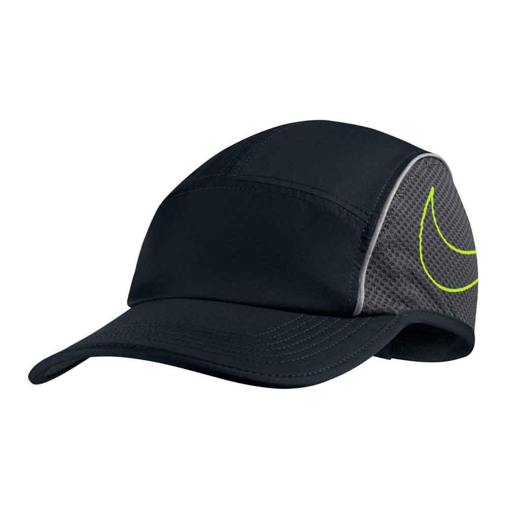 253aa25182 Nike Aerobill Run AW84 Preto comprar e ofertas na Runnerinn Bonés