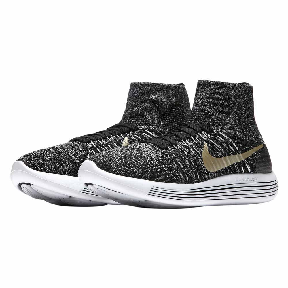 dfa1003e0bca1c Nike Lunarepic Flyknit BHM White buy and offers on Runnerinn