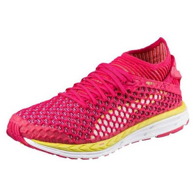 e2f6699e7172 Puma Speed Ignite Netfit Pink buy and offers on Runnerinn