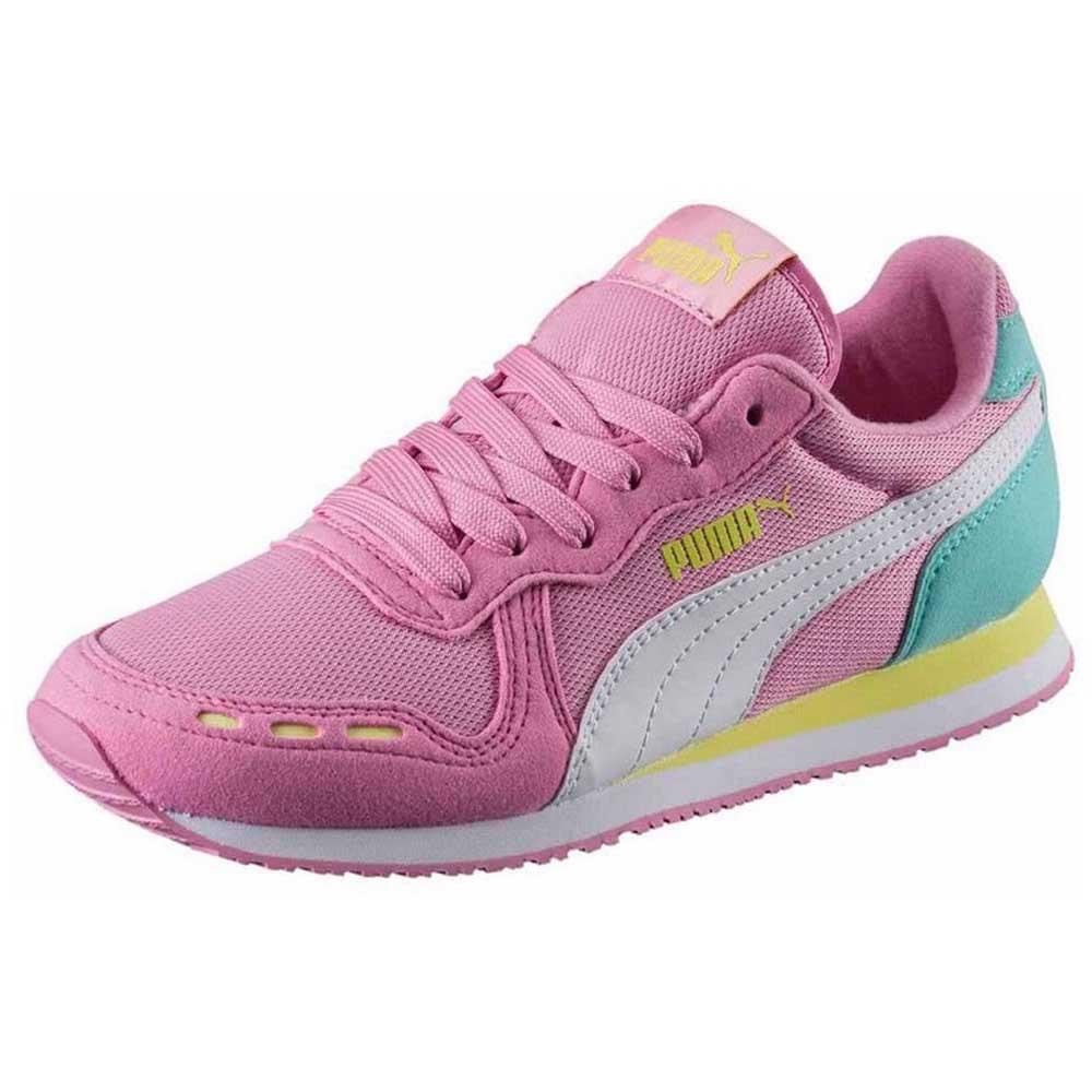 Puma Cabana Racer Mesh Jr Pink buy and