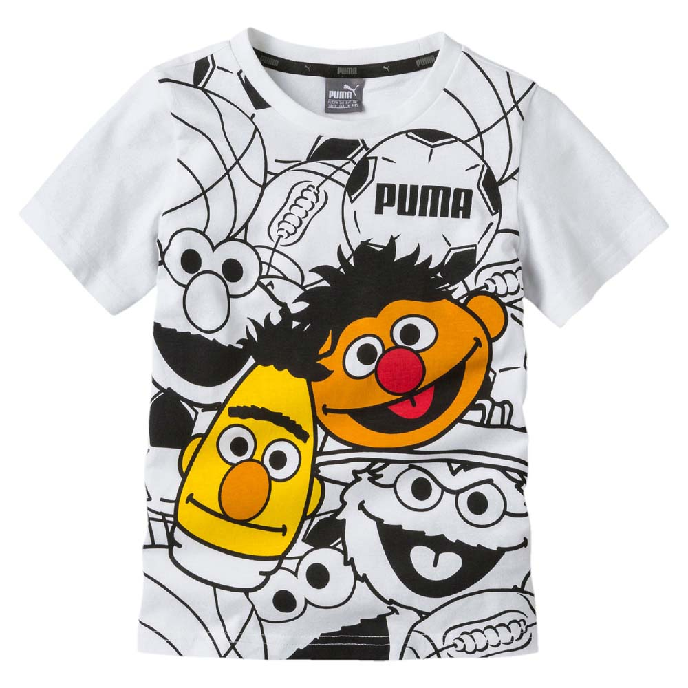 f951ad7c Puma Sesame Street Graphic White buy and offers on Runnerinn