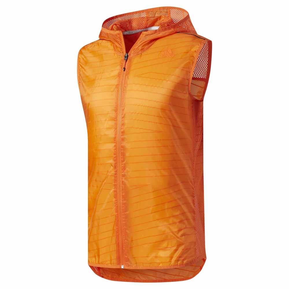 a242b2252d4 adidas Supernova TKO Flock Print Vest Oranje, Runnerinn