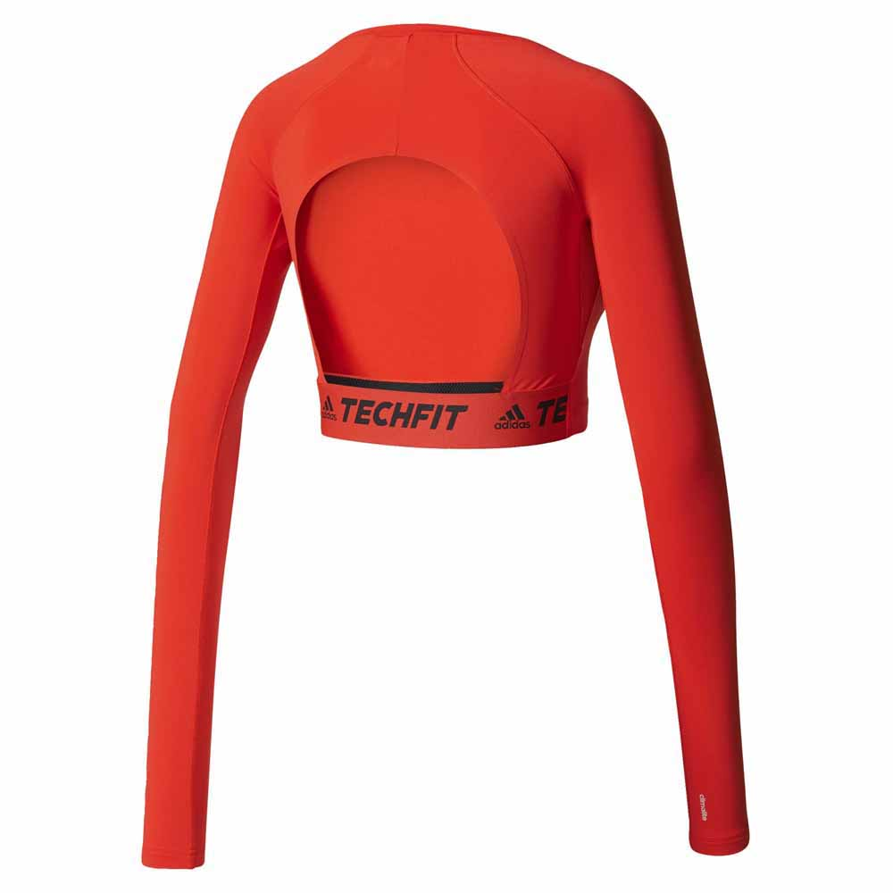 1e8b113cfd090 adidas Techfit Crop Top buy and offers on Runnerinn