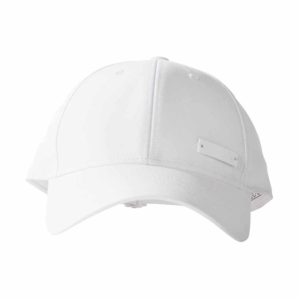 adidas 6 Panel Classic Cap Lightweight Metal Badge White 127a2fc850e