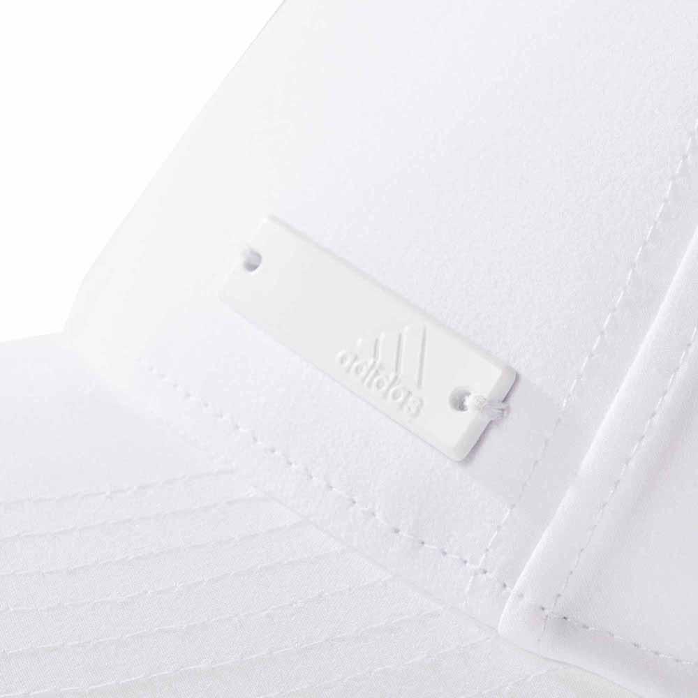 adidas 6 Panel Classic Cap Lightweight Metal Badge White 320f3256ea43