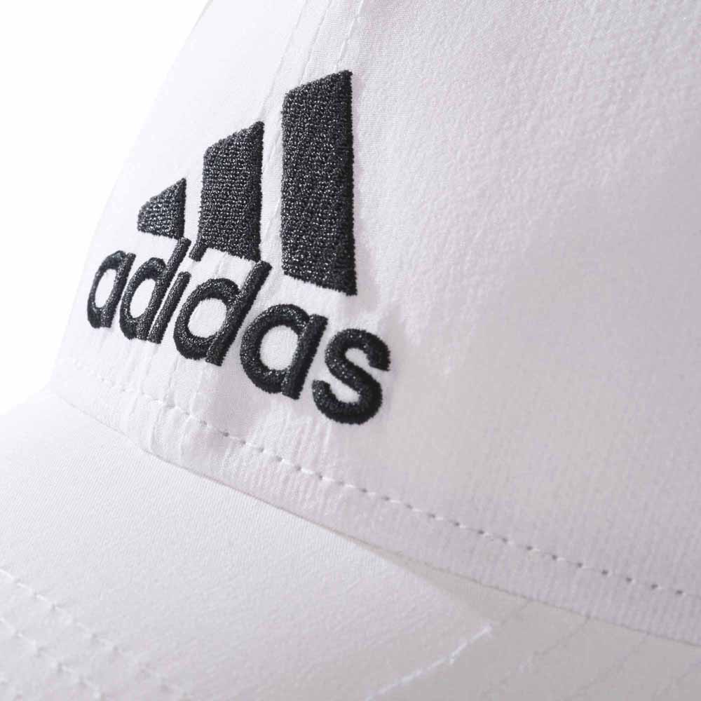 ecb2d8294bf adidas 6 Panel Classic Cap Lightweight Embroidered White