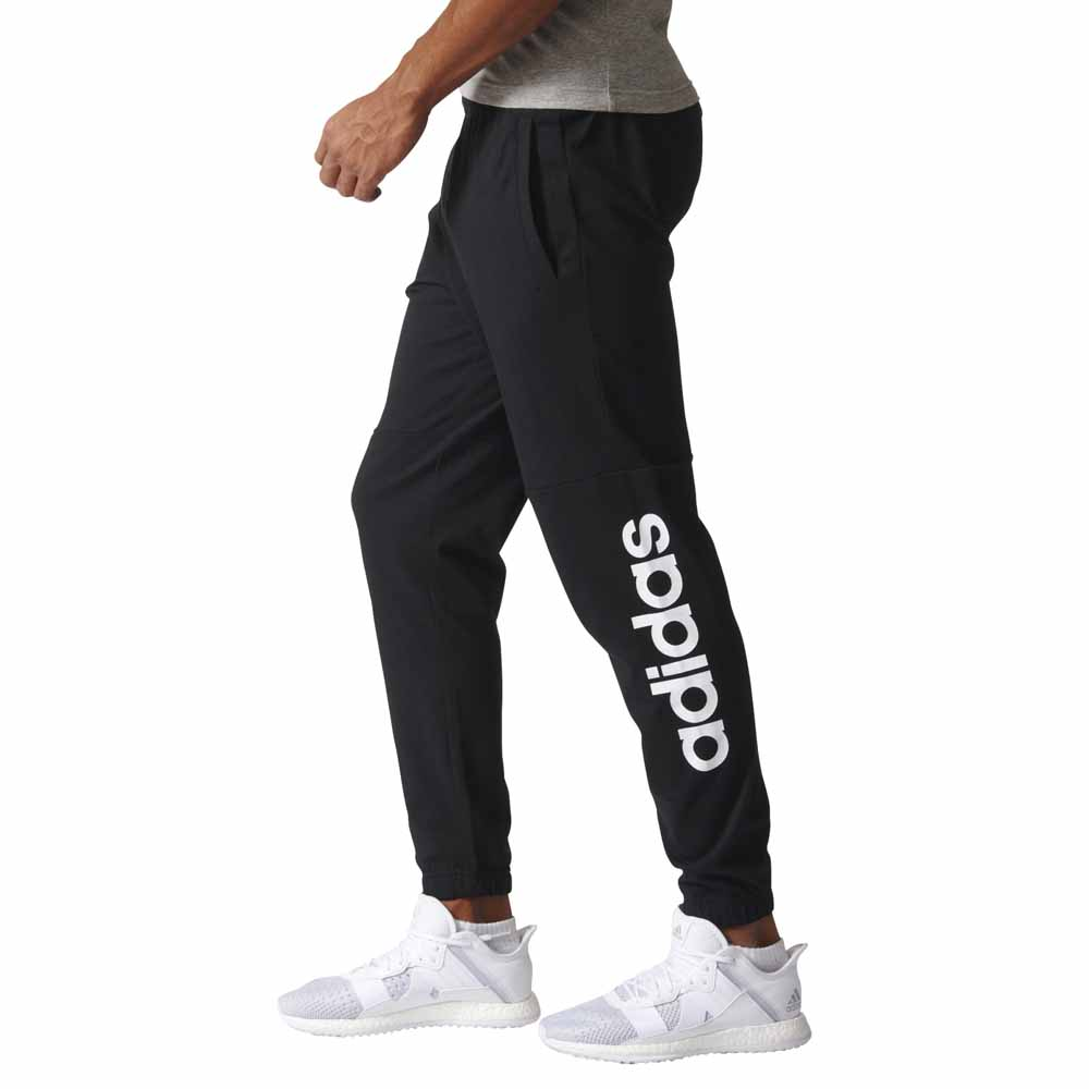 184c7b538 adidas Essentials Linear Tapered Single Jersey Pants , Runnerinn