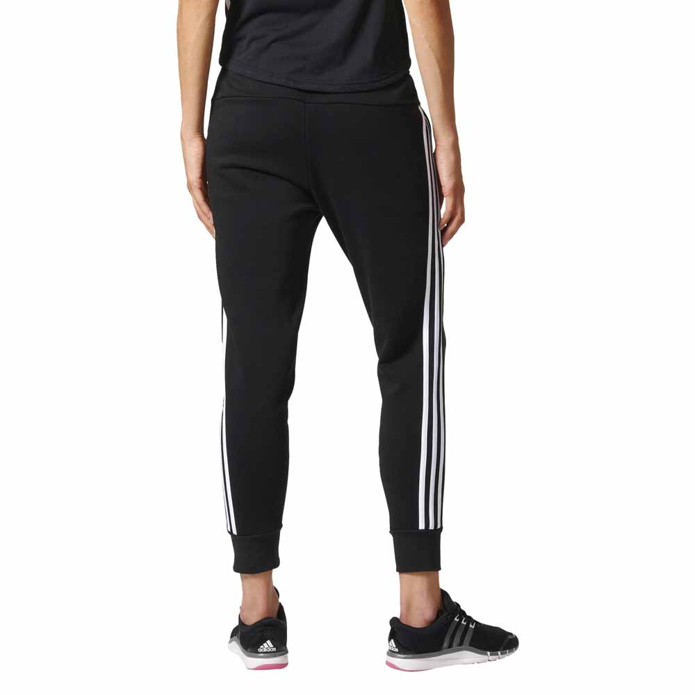 adidas 3 stripe pants. adidas essentials 3 stripes tapered pants stripe n