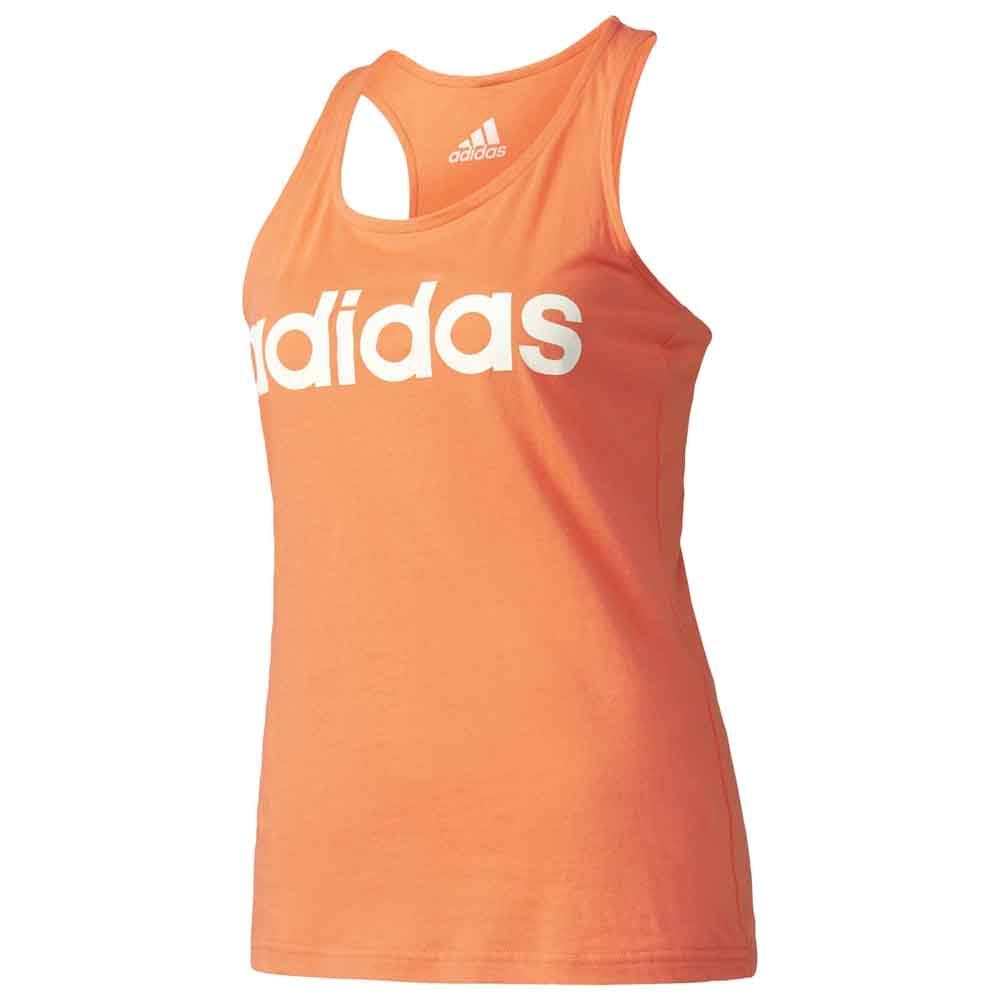 adidas Essentials Linear Slim Tank buy and offers on Runnerinn 5a1180ac4478b
