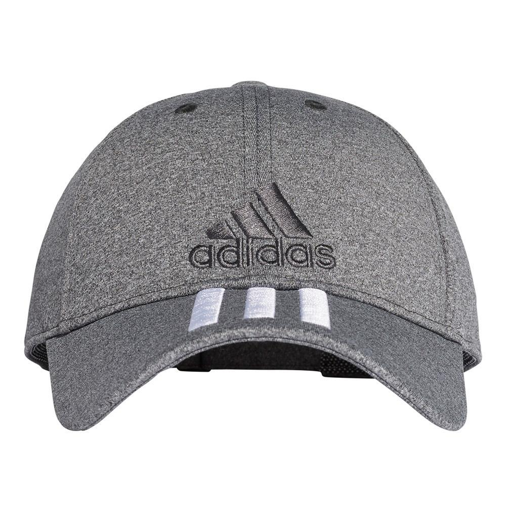 adidas 6 Panel Classic 3 Stripes Cap Melange Grey 478c6faa7a6