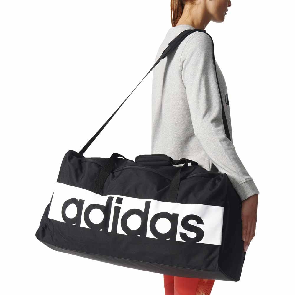 2443a01b9a adidas Linear Performance Team Bag Negre, Runnerinn