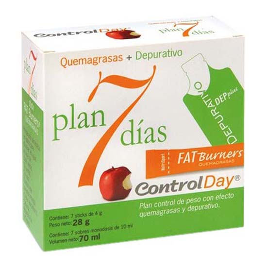 Nutrisport 7 Days Plan 7 Sticks Y 7 Depurative Soluble