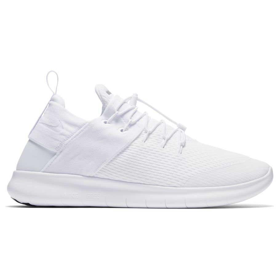 Nike Free RN Commuter 2017 White buy and offers on Runnerinn