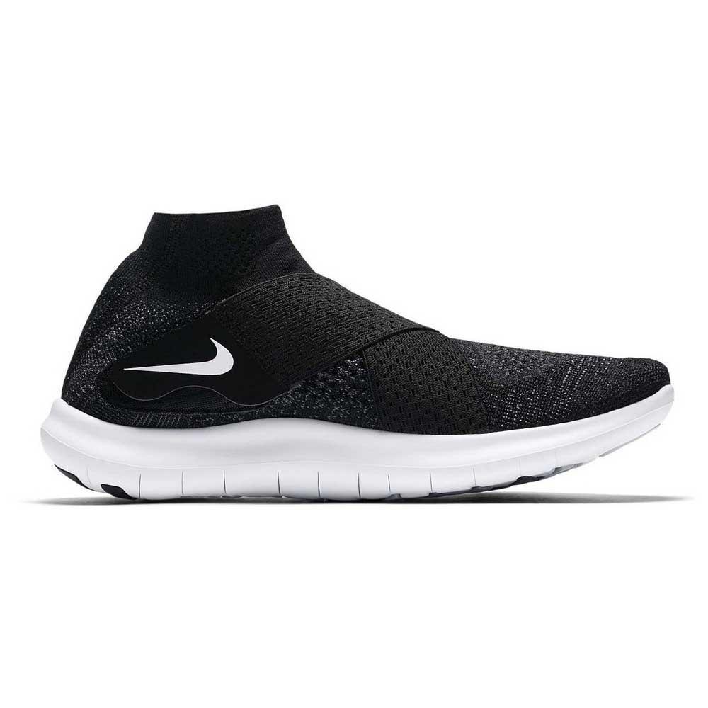 Nike Free RN Motion Flyknit 2017 Svart kjøp og tilbud