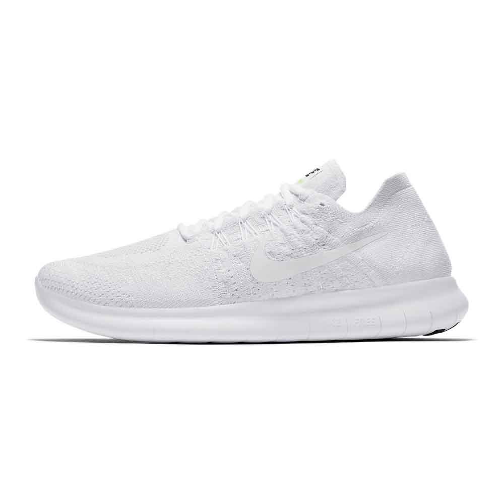 d94f9a42f0f90b Nike Free RN Flyknit 2017 White buy and offers on Runnerinn