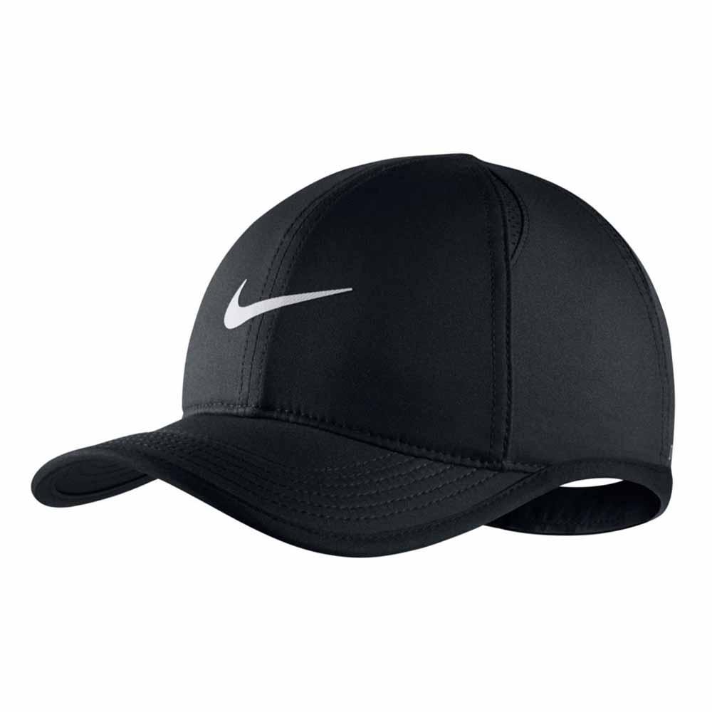 buy popular 15320 22444 Nike Aerobill Featherlight Black buy and offers on Runnerinn