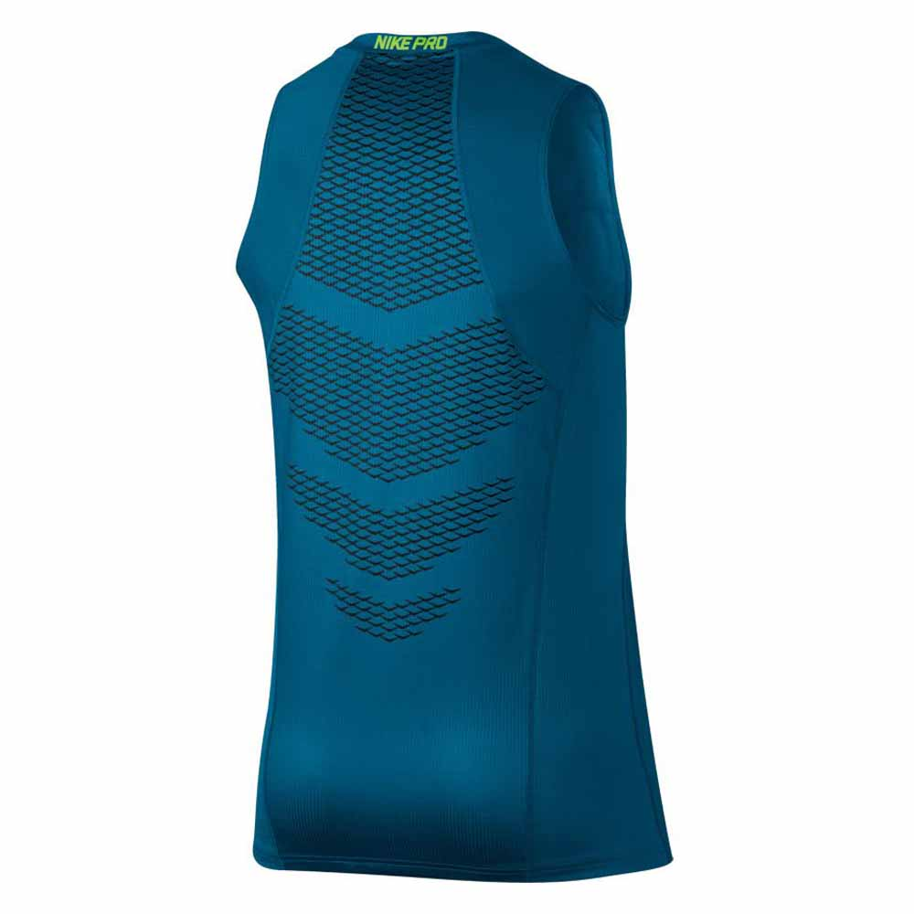 8803101a Nike Hypercool Tank Fitted Blue buy and offers on Runnerinn