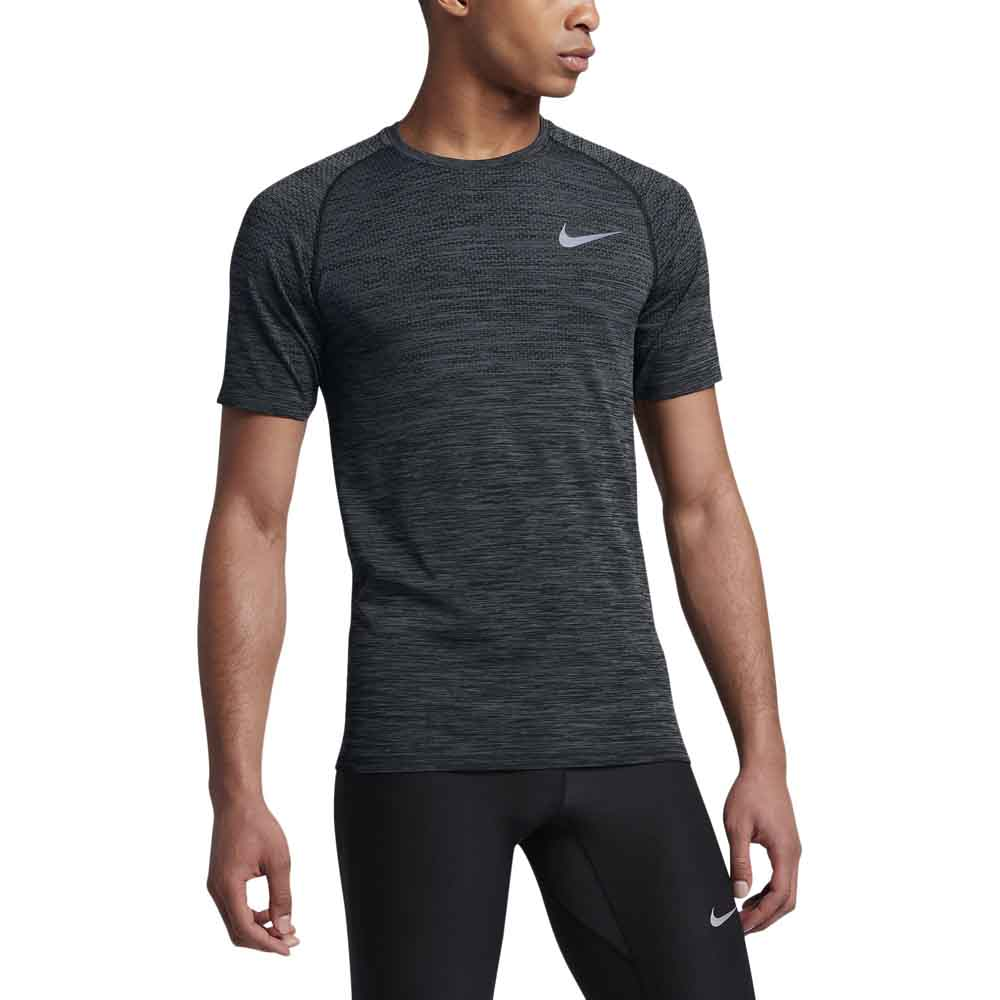 nike dri fit knit top s s buy and offers on runnerinn. Black Bedroom Furniture Sets. Home Design Ideas