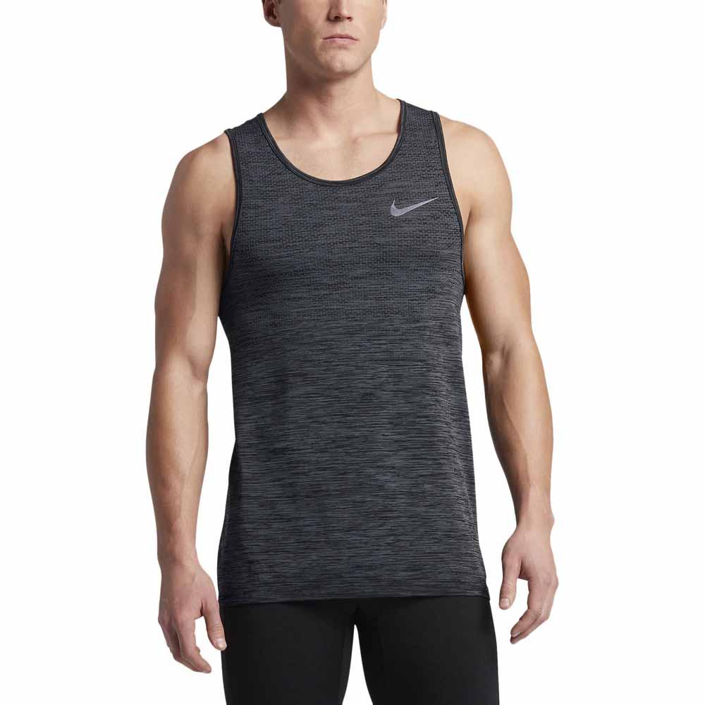 f2faa3d1e Nike Dri Fit Knit Tank Szary kup i oferty, Runnerinn