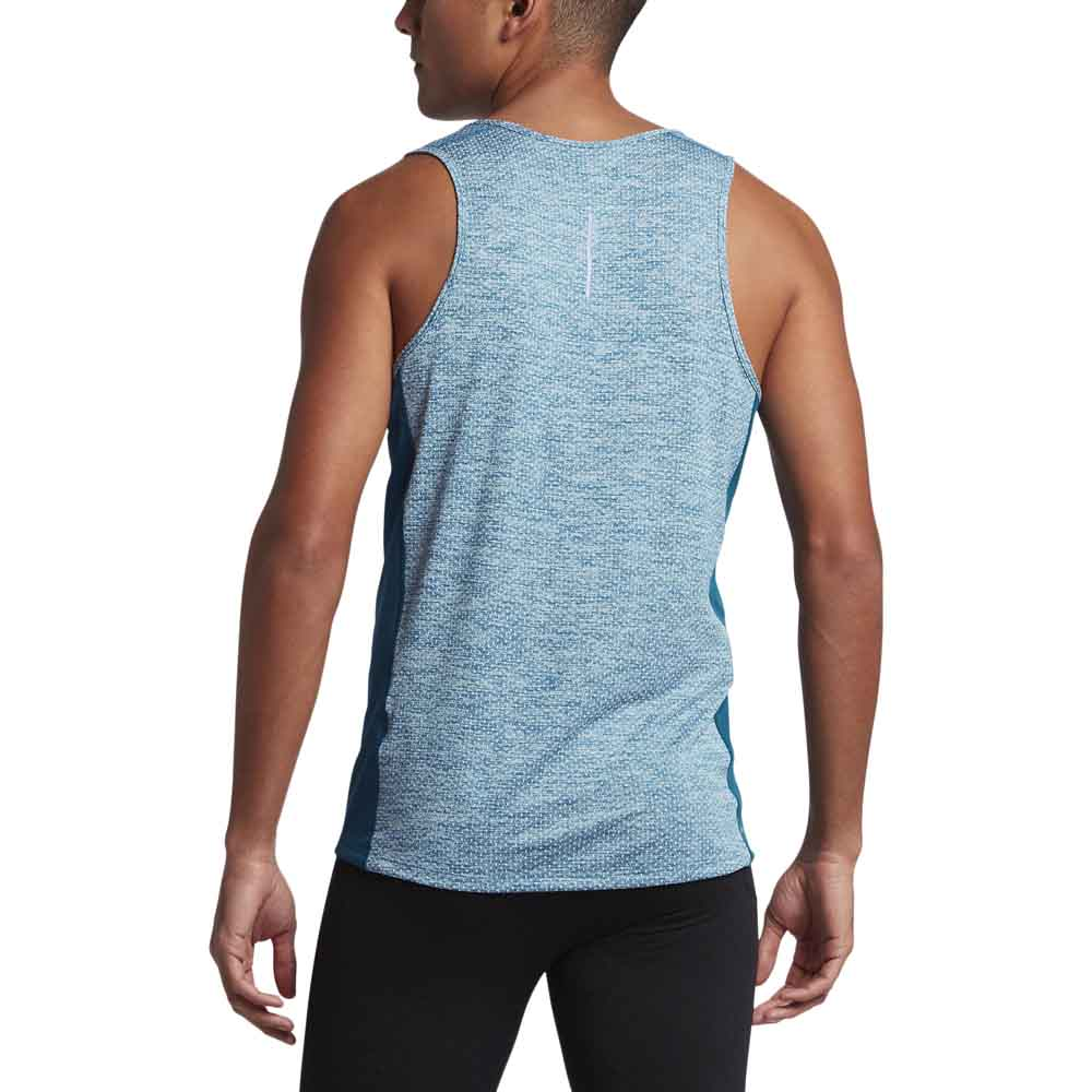 a193ef640ce1f8 Nike Dry Miler Tank Cool Blue buy and offers on Runnerinn