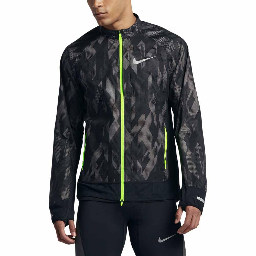 tocino Gorrión Asesino  Nike Flex Jacket Trail Grey buy and offers on Runnerinn